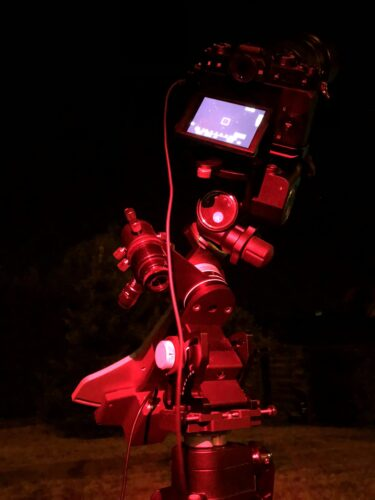 Astrophotography for beginners, basic setup