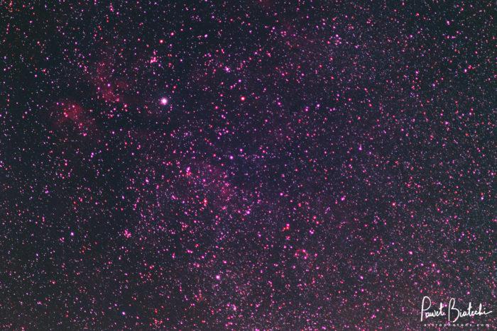 Sadr Region and Crescent Nebula
